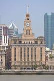 Zwyczaje Mieścą Bund, Szanghaj, Chiny obraz royalty free