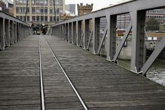 Zwyczajnego mosta Hamburg przystań obrazy stock