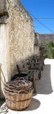 Zwyczajny życie w Crete zdjęcie stock