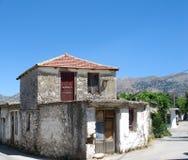 Zwyczajny życie w Crete obraz stock
