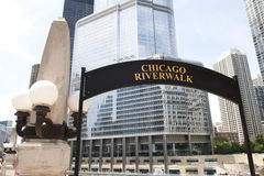 Zwyczajny Chicagowski nabrzeże Fotografia Stock