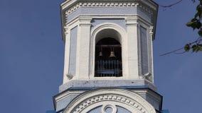 Zwyczajny kościół z pozłacaniem Miastowa architektura w małomiasteczkowym miasteczku zbiory