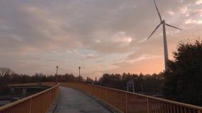 Zwyczajny most przez autobahn zbiory wideo