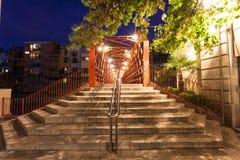 Zwyczajny most w Girona, Hiszpania Fotografia Royalty Free