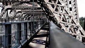 Zwyczajny skrzyżowanie wśrodku Quebec mosta fotografia royalty free