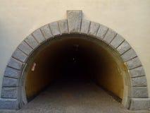 Zwyczajny tunel Obraz Royalty Free