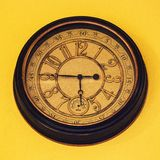 zwykły zegar obrazy royalty free