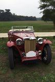 zwykły czerwony samochód Obrazy Royalty Free