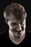 Zły mężczyzna portret Fotografia Stock
