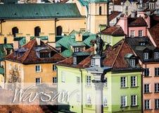 Zygmunt column Warsaw Royalty Free Stock Photo