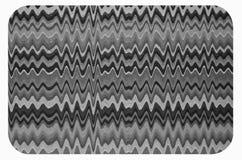 Zygzag i fala linii wzór mysz ochraniacz Zdjęcia Royalty Free