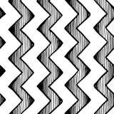 Zygzakowate paraleli linie ilustracja wektor