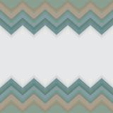 Zygzakowaty wzór z biel przestrzenią dla teksta lub loga Zdjęcia Stock