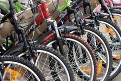 Zyklen für Verkauf Stockfoto
