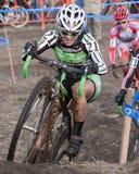 Zyklo-Kreuz nationale Meisterschaft - Auslese-Frauen Stockfoto