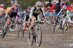 Zyklo-Kreuz nationale Meisterschaft - Auslese-Männer Stockfoto