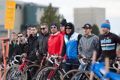 Zyklo-Kreuz nationale Meisterschaft - Auslese-Männer Stockbilder