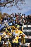 Zyklo Tschechische Republik 2013 des Kreuz-UCI Lizenzfreies Stockfoto