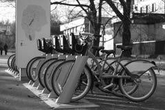 Zyklusstation Stockbild