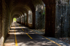 Zyklusweg Alpe Adria, Italien Lizenzfreie Stockfotos