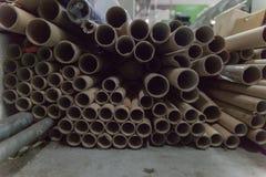 Zylinder für Gewebe an der Fabrik lizenzfreies stockbild