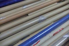 Zylinder für Gewebe an der Fabrik lizenzfreie stockfotos