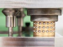 Zylinder mit Bereichen Lizenzfreies Stockbild
