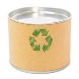 Zylinderbehälter mit bereiten Symbol auf stockfoto