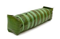 Zylinderförmiger Klebreiskuchen, vietnamesisches Lebensmittel des neuen Jahres Stockfotografie
