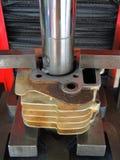 Zylindermotorrad Lizenzfreie Stockfotografie