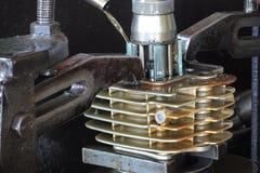 Zylindermotorrad Lizenzfreie Stockbilder