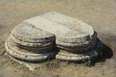 Zypern, alte Salamis stockfotos