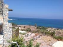Zypern-Ansicht Stockfotografie