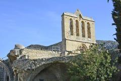 Zypern, Bellapais-Abtei Lizenzfreie Stockfotos