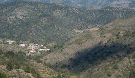 Zypern-Bergdorf von Askas Lizenzfreie Stockfotografie