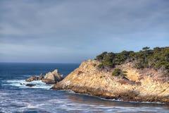 Zypern-Bucht an Punkt-Lobos-Park Lizenzfreie Stockfotos