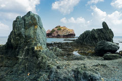 Zypern, Küste der Akamas-Halbinsel Lizenzfreie Stockfotografie
