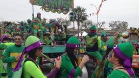 Zypern-Karneval stock footage