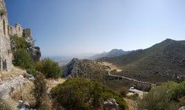 Zypern-Str. Hilarion Lizenzfreie Stockfotografie