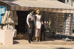 Zypriotische nationale Kostüme Stockfotografie