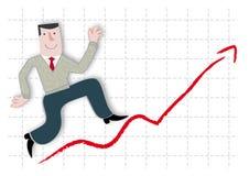 Zysk i przyrost Royalty Ilustracja