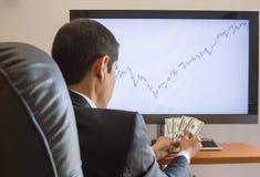 Zyski w rynkach finansowych zdjęcie royalty free