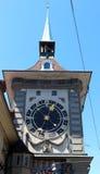Zytglogge,伯尔尼,瑞士的东部前面 免版税库存图片