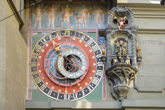 Zytglogge in Bern, landmark medieval clock tower Royalty Free Stock Photography