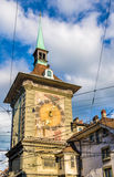 Zytglogge tower, a medieval landmark in Bern Royalty Free Stock Photos