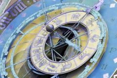 Zytglogge zodiacal klocka i Bern, Schweiz arkivfoton
