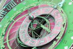 Zytglogge zodiacal klok in Bern, Zwitserland stock afbeelding