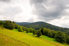 Zywiec Beskid mountains Royalty Free Stock Image