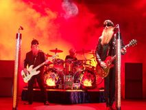 ZZ Top. Is a rock,blues and classic rock band Stock Images
