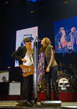 ZZ Top in Concert Stock Image